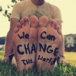 how I can change the world