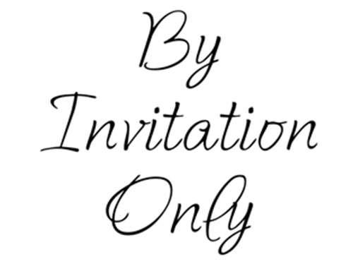 invite only