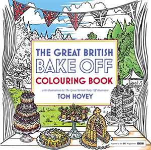great british bake off coloring book