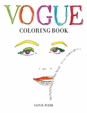British Vogue coloring book
